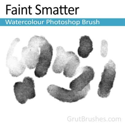 Faint Smatter - Photoshop Watercolor Brush