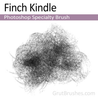 Photoshop Specialty Brush for digital artists 'Finch Kindle'