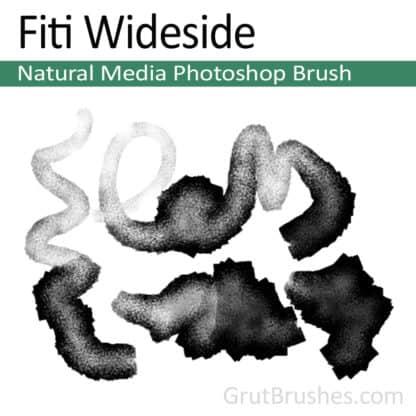 Fiti Wideside - Photoshop Natural Media Brush