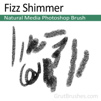 Fizz Shimmer - Photoshop Natural Media Brush