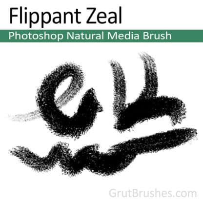 Flippant Zeal - Photoshop Natural Media Brush