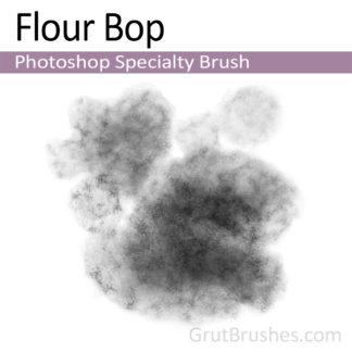 Photoshop Specialty Brush for digital artists 'Flour Bop'