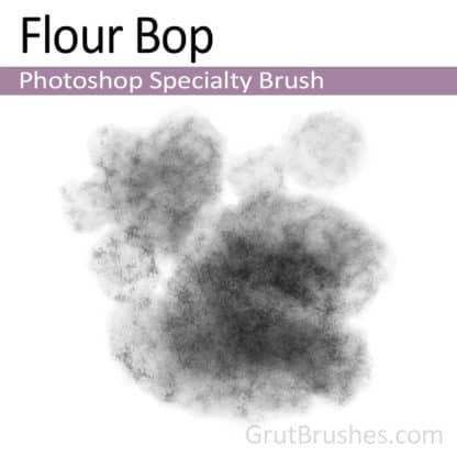 Photoshop Specialty Brush for digital artists 'Flour Bop'