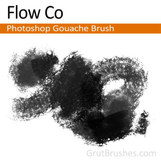 Flow Co - Photoshop Gouache Brush