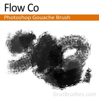 Flow Co - Photoshop Gouache Brush