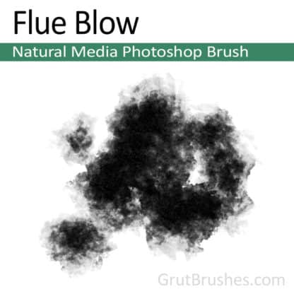 Flue Blow - Photoshop Natural Media Brush