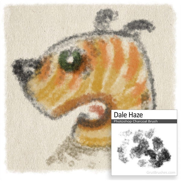 Dale Haze - Free Photoshop Brush of the week April 18 2016