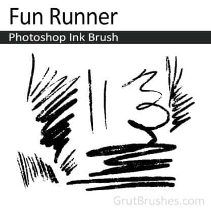 Fun Runner - Photoshop Ink Brush