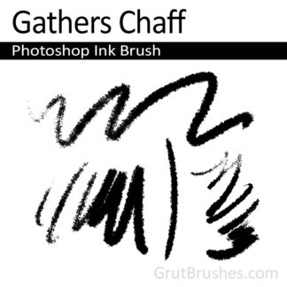Gathers Chaff - Photoshop Ink Brush