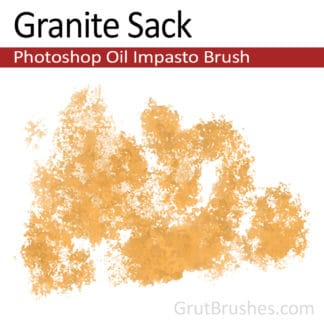 Granite Sack - Impasto Oil Photoshop Brush