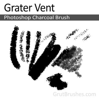 Grater Vent - Photoshop Charcoal Brush