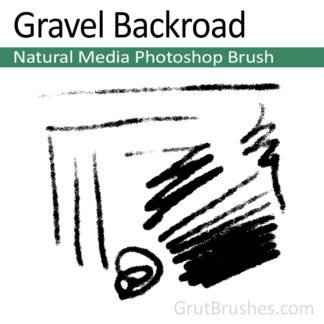Gravel Backroad - Natural Media Brush