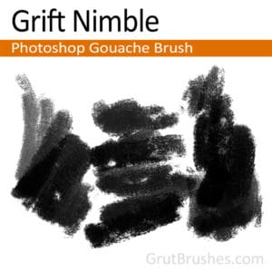 Grift Nimble - Photoshop Gouache Brush
