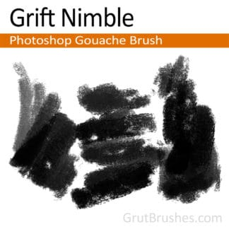 Grift Nimble - Photoshop Gouache Brush