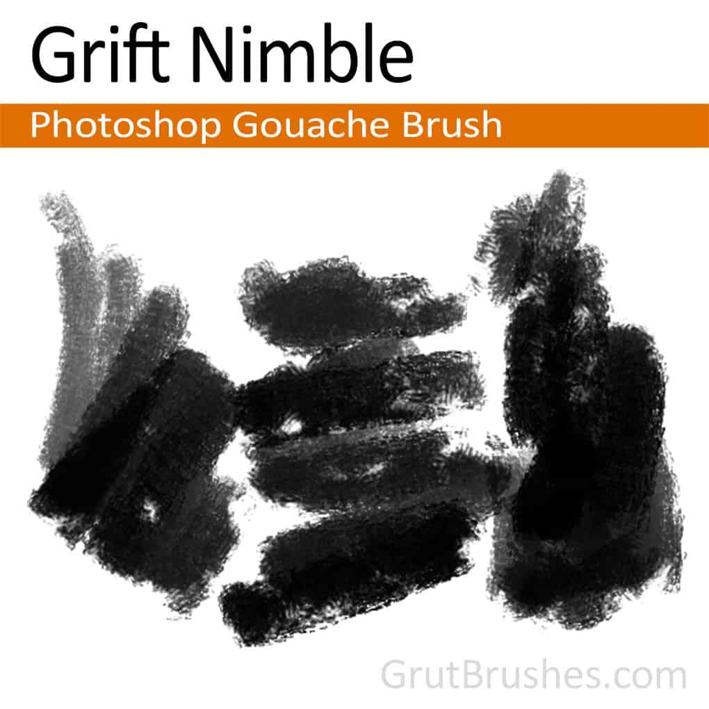 Gouache Paint Brush Set Free Photoshop