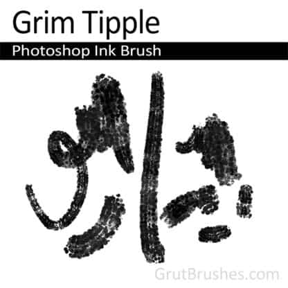 Grim Tipple - Photoshop Ink Brush