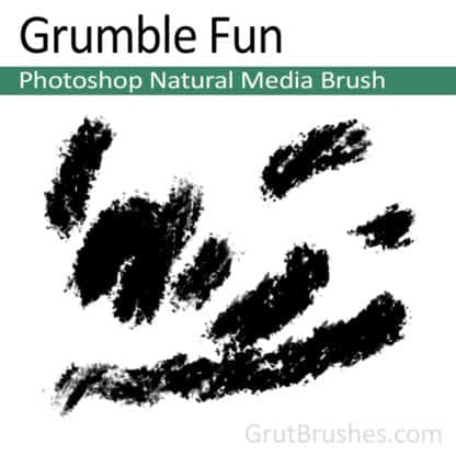 Grumble Fun - Photoshop Natural Media Brush