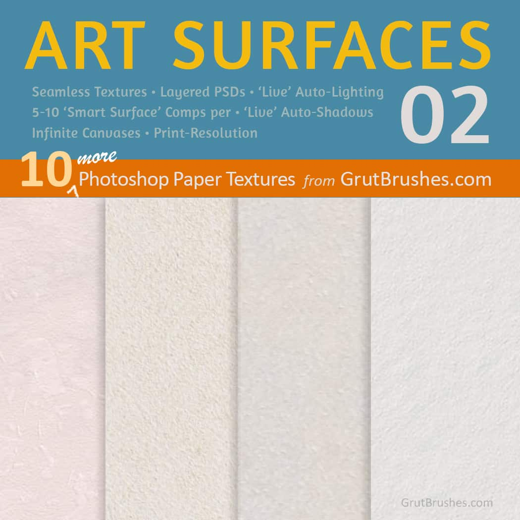 10 Paper Textures | Seamless tileable bavgrounds for digital artists