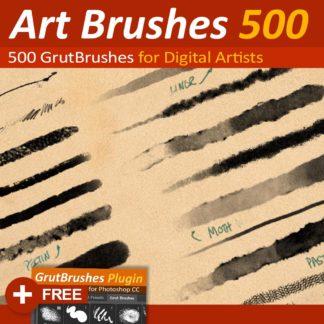 500 Photoshop brushes pack