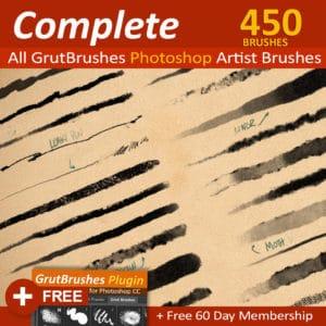 450 Photoshop brushes
