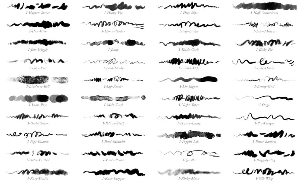 32 more Photoshop brushes