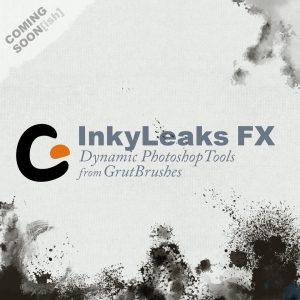 GrutBrushes-Photoshop-spatter-brushes-InkyLeaks-FX-Product-Image-Prerelease