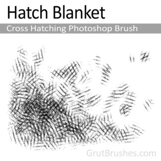 Hatch Blanket - Photoshop Cross Hatching Brush
