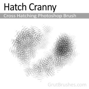 'Hatch Cranny' Photoshop Cross Hatch Brush