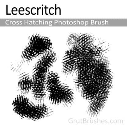 Hatch Leescritch - Photoshop Cross Hatching Brush