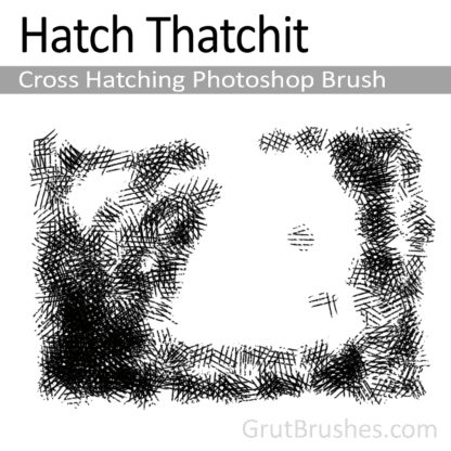 Hatch Thatchit - Cross Hatching Photoshop Brush