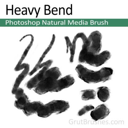 Photoshop Natural Media for digital artists 'Heavy Bend'