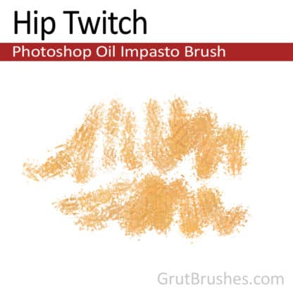 Hip Twitch - Photoshop Impasto Oil Brush