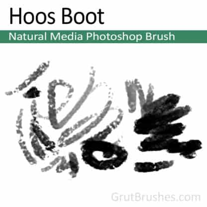 Hoos Boot - Photoshop Natural Media Brush