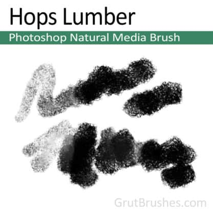 Hops Lumber - Photoshop Natural Media Brush