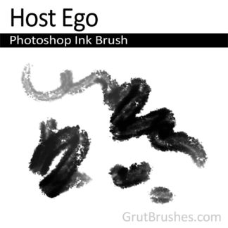 Photoshop Ink Brush for digital artists 'Host Ego'