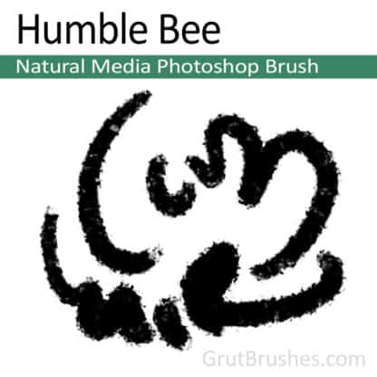 Humble Bee - Photoshop Natural Media Brush