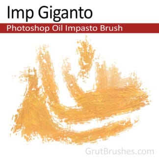 Imp Giganto - Impasto Oil Photoshop Brush