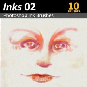 10 Photoshop Ink Brushes for Digital Artists