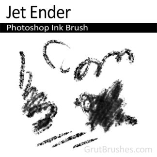 Photoshop Ink Brush for digital artists 'Jet Ender'