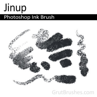 Photoshop Ink Brush for digital artists 'Jinup'