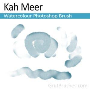 Photoshop Watercolour Brush for digital artists 'Kah Meer'