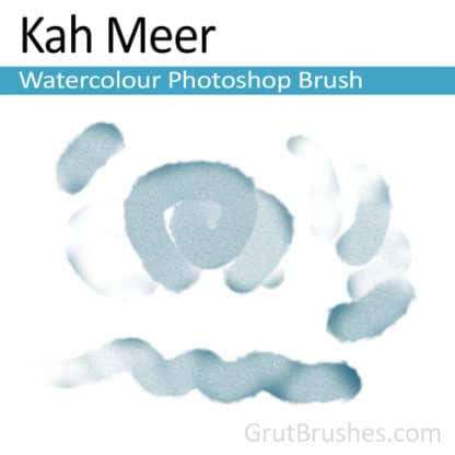 Photoshop Watercolour Brush for digital artists 'Kah Meer'