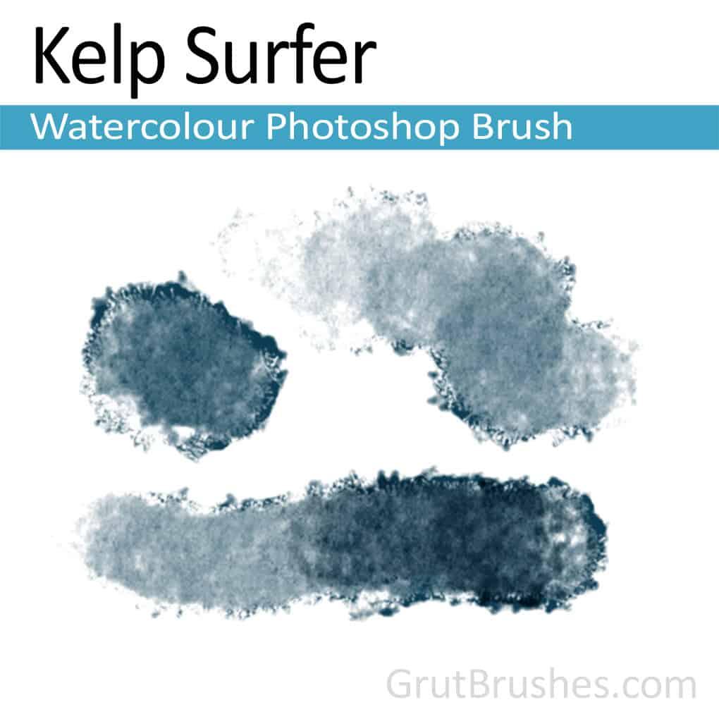 Kelp Surfer - Photoshop Watercolor Brush