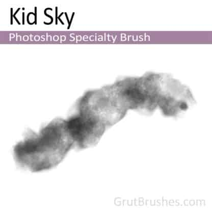 Photoshop Specialty Brush for digital artists 'Kid Sky'