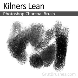 Kilners Lean - Photoshop Charcoal Brush