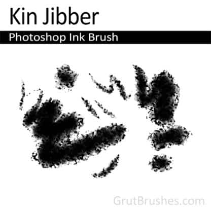 Photoshop Ink Brush for digital artists 'Kin Jibber'