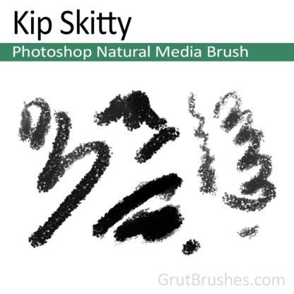 Photoshop Natural Media Brush for digital artists 'Kip Skitty