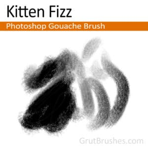 Photoshop Gouache Brush 'Kitten Fizz'