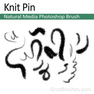 Knit Pin - Photoshop Natural Media Brush