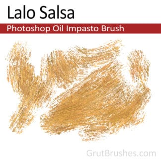Lalo Salsa - Impasto Oil Photoshop Brush